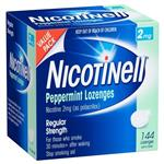 Nicotinell Lozenges Mint 2mg 144 Exclusive Size
