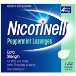 Nicotinell Lozenges Mint 4mg 144 Exclusive Size