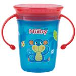 Nuby 360 Twin Handle Cup 240ml