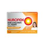 Nurofen for Children 7+ Orange 100mg Chewable 12 Capsules