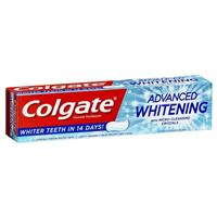 Colgate Advanced Whitening Fluoride Toothpaste with micro-cleansing crystals 190g