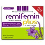 Remifemin Plus 120 Tablets Exclusive Size
