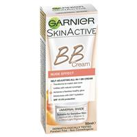 Garnier Youthful Radiance Miracle Skin Perfector BB Cream Nude Effect SPF 15 50ml
