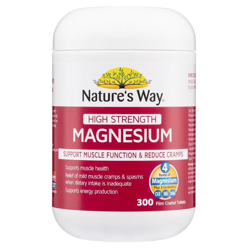 Nature S Way Magnesium Citrate