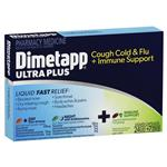 Dimetapp Ultra Plus Cough Cold & Flu + Immune Support 24 Liquid Capsules