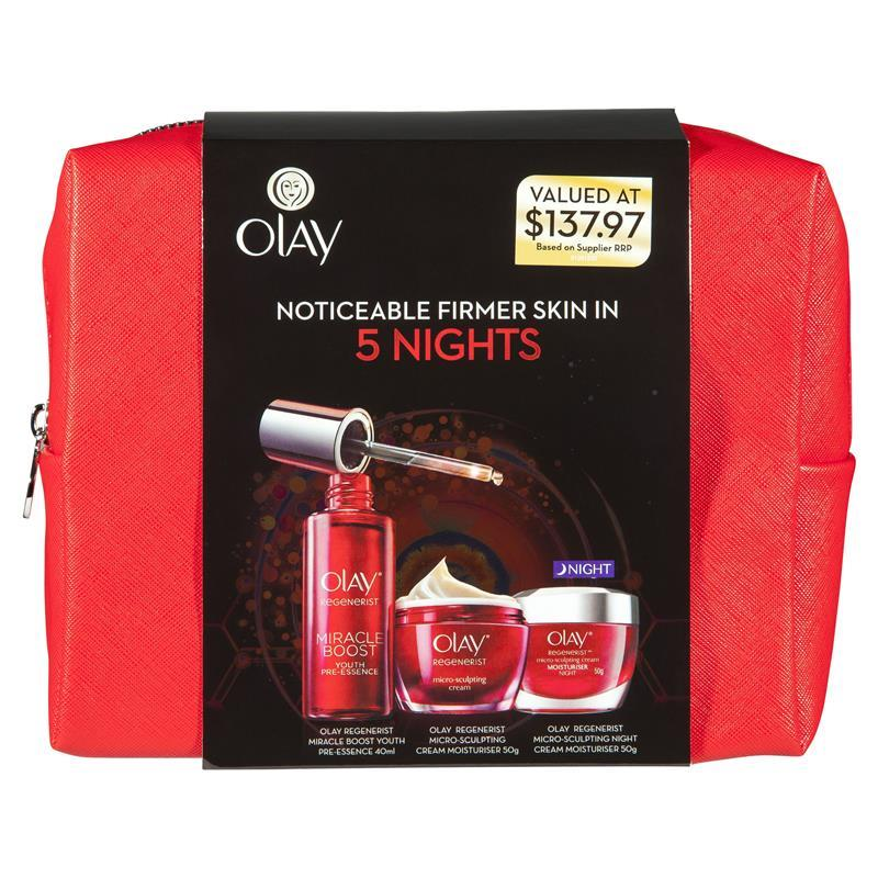 Click to enlarge  sc 1 st  My Beauty Spot & Olay Regenerist Micro Sculpting Overnight Miracle Gift Set : My ...