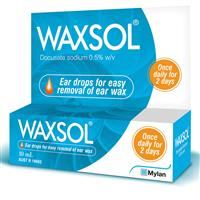 Waxsol Ear Drops 0.5% 10mL