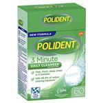 Polident Fresh Active Denture Cleanser 60 Pack Exclusive Size