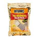 Hot Hands Toasti Toe Warmers 5 Pairs