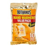 Hot Hands Hand Warmers 5 Pairs