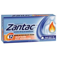 Zantac 12 Hour 150mg 14 Tablets