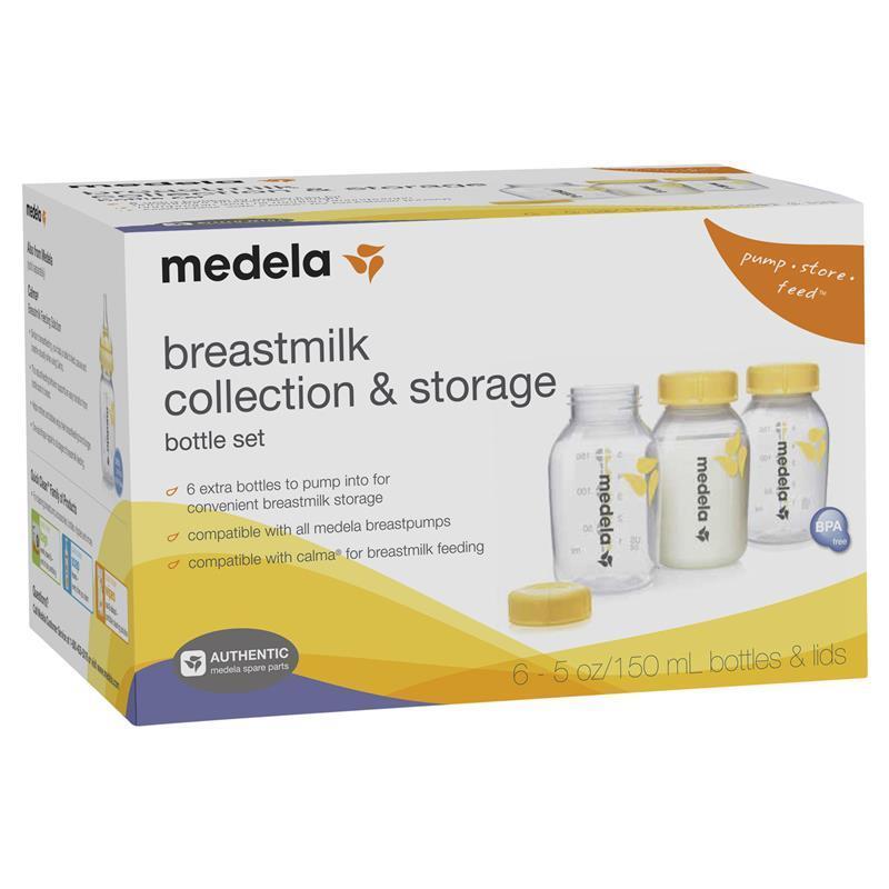 Online Only Medela Breastmilk Collection Storage Bottles 150ml 6