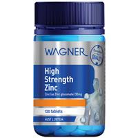 Wagner High Strength Zinc 120 Tablets