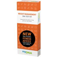 MyDNA Weight Management & Fitness DNA Test Kit
