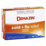 Demazin PE Multi Action Cold & Flu Relief 48 Tablets