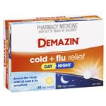 Demazin PE Multi Action Day & Night Cold & Flu Relief 48 Tablets