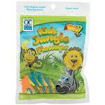 Kids Jungle Floss Fruit Flavour 30 Pieces