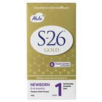S26 Gold Alula Newborn Stick Pack 6 X 17G