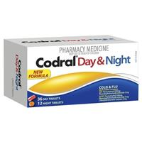 Codral PE Day & Night Tablets 48 Pack (Codeine-Free)