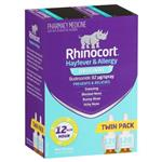 Rhinocort Hayfever Aqueous 32mcg 120 Doses Twin Pack