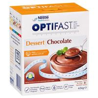 Optifast VLCD Chocolate Dessert 8 x 53g