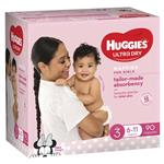 Huggies Jumbo Crawler Girl 90 Pack