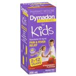 Dymadon for Kids Strawberry 2 Years - 12 Years 200ml