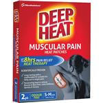 Deep Heat Regular Patch 2 Pack