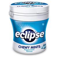 Eclipse Peppermint Chewy Mints 46 Piece Bottle