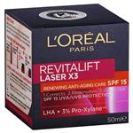 L'Oreal Paris Revitalift Laser Spf 15+ 50ml
