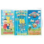 ABC Kids Assorted Pocket Tissues 6 Pack