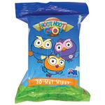 ABC Kids Hoot Hoot Go Wet Wipes 30 Pack
