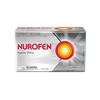 Nurofen Pain Relief Caplets 200mg 96 Pack