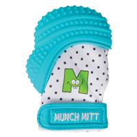 Malarkey Munch Mitt Teething Mitten Aqua