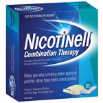 Nicotinell Combination Therapy Pack 21mg 7 Day Patches and 2mg 36 Gum