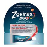 Zovirax Cold Sore Cream Duo 2g