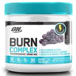 Optimum Nutrition Burn Complex Caffeinated Grape 30 Serve 150g Online Only