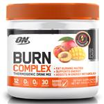 Optimum Nutrition Burn Complex Caffeine Free Peach Mango 30 Serve 135g Online Only