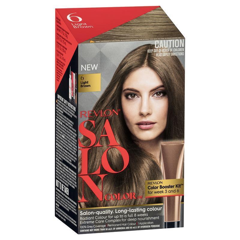 Revlon Salon Hair Color 6 Light Brown Epharmacy