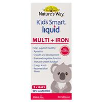 Nature's Way Kids Smart Liquid Multi + Iron 200ml