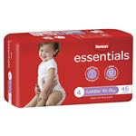 Huggies Essentials Size 4 10-15kg 46 Nappies