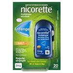 Nicorette Cooldrops Fresh Fruit 2mg 20 Lozenges