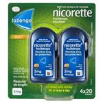 Nicorette Cooldrops Fresh Fruit 2mg 80 Lozenges