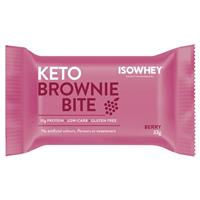 IsoWhey Keto Brownie Bite Berry 33g Single
