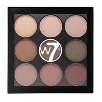 W7 The Naughty Nine Eye Shadow Palette Mid Summer Nights