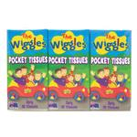 ABC Kids The Wiggles Pocket Tissues 6 Pack