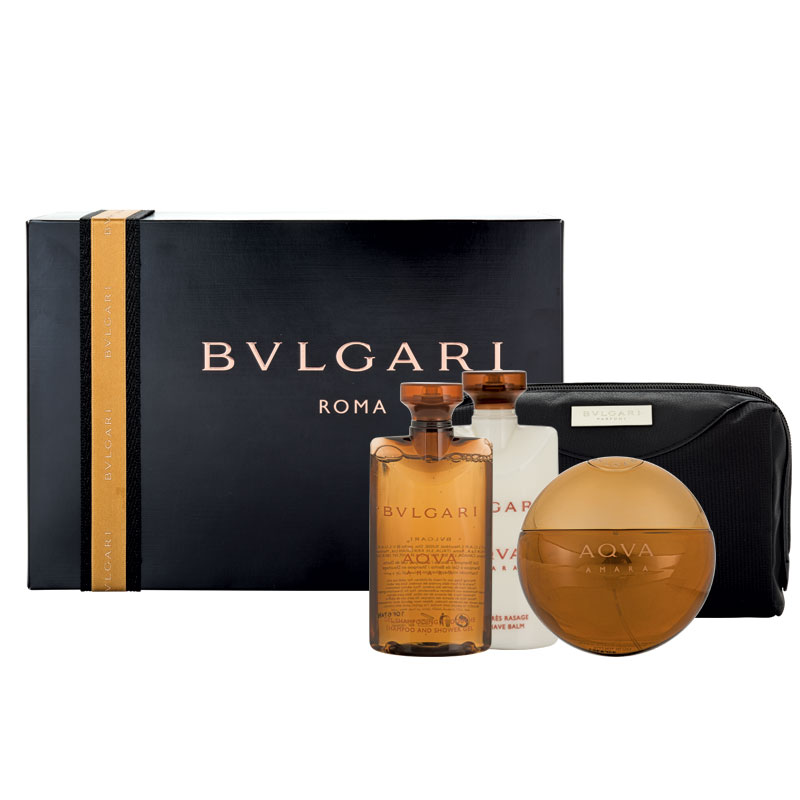 2478bd05cf Bvlgari Aqva Amara For Men Eau De Toilette 100ml 4 Piece Set - My ...