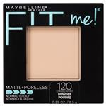 Maybelline Fit Me Matte & Poreless Pressed Powder - Classic Ivory 120