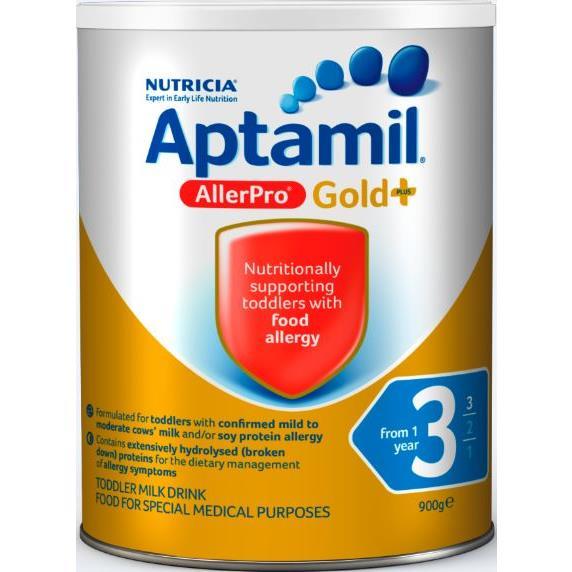 Aptamil Gold+ 3 AllerPro Toddler Milk Drink 12 Months+ 900g