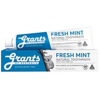 Grants of Australia Toothpaste Fresh Mint with Tea Tree Oil 110g Online Only